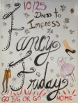 Fancy Friday - Dress to impress!