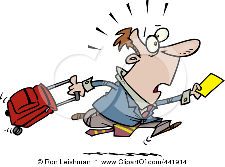441914-Royalty-Free-RF-Clip-Art-Illustration-Of-A-Cartoon-Businessman-Running-Late-For-A-Flight