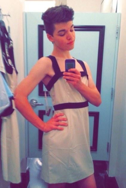 Transgender teen, Leelah Alcorn.