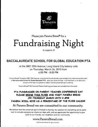 PTA Panera Fundraiser Flyer copy 2